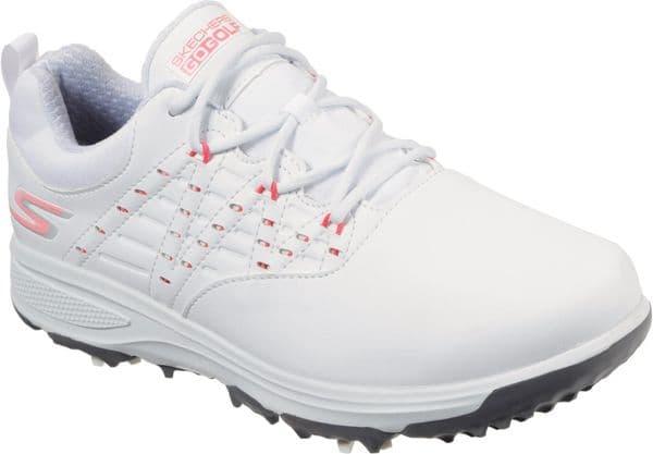 Skechers GO GOLF Pro V.2 Ladies Sports White / Pink
